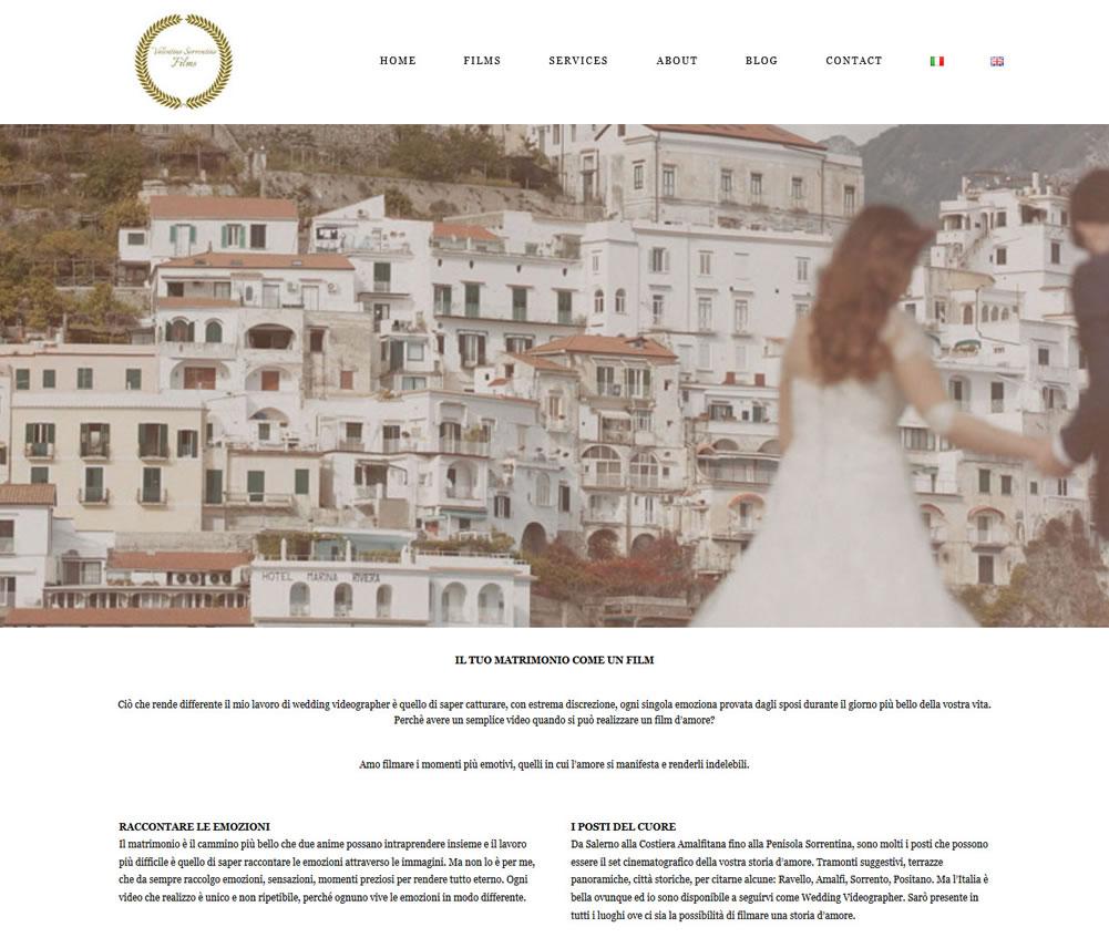 New web site - Valentino Sorrentino FilmMaker